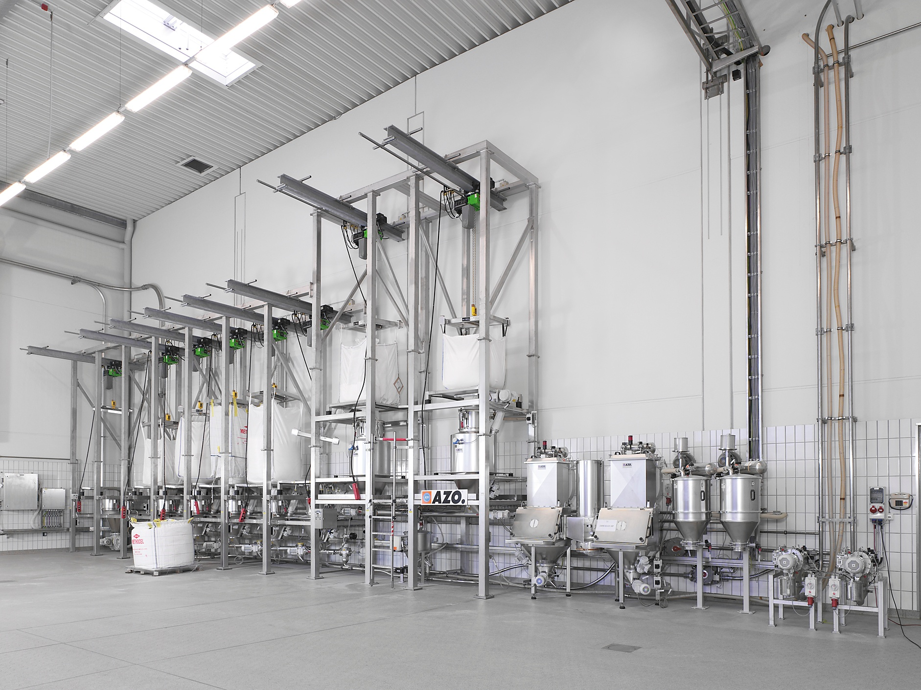 bulk material handling equipment for powder and bulk solids in all indsutries