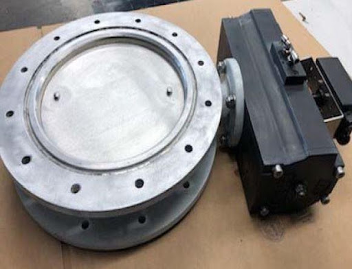 Butterfly Valve Repaired