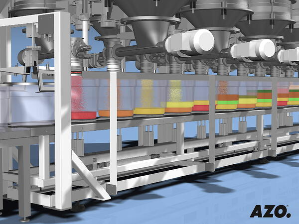 AZO Componenter Step metering and weighing components
