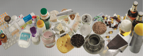 products made with a vacuum conveying systems